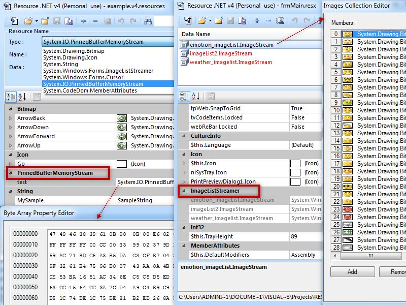 Click to view Resource .NET v2 3.0.6229 screenshot