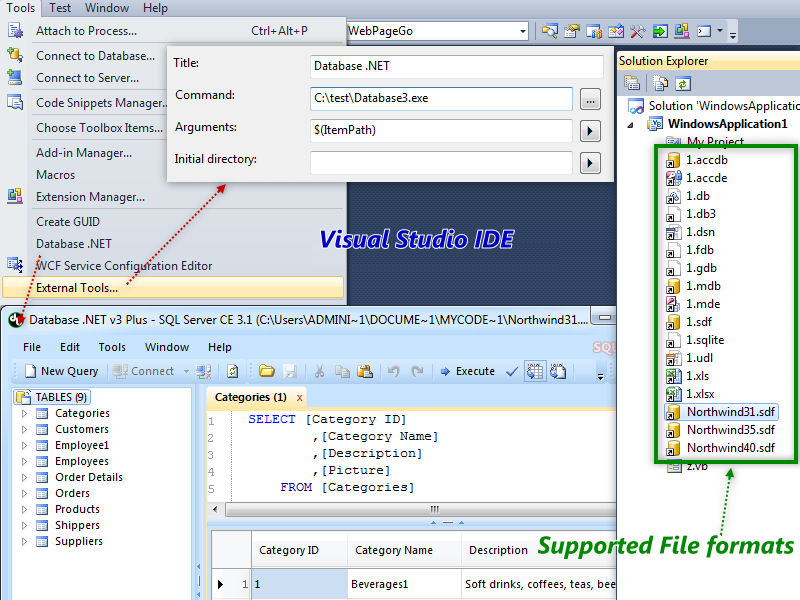 Database  NET - Visual Studio Marketplace